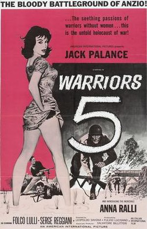 Warriors Five - Image: Warriors five poster 01