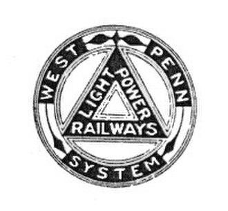 West Penn Railways - Image: West penn railways logo a
