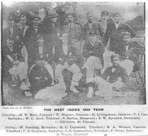 West Indian cricket team in England in 1900 - 1900 West Indies Team