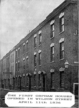 New Orphan Houses, Ashley Down, Bristol - original orphan houses