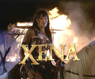 Xena: Warrior Princess - Opening sequence title card