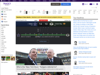 Yahoo Sports Sports news website