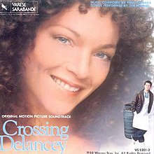 """Crossing Delancey"" Original Motion Picture Soundtrack album cover.jpg"