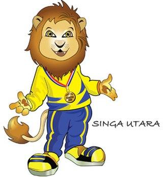 2013–2014 Sukma Games - Singa Utara, the lion, The Official Mascot of the 2014 Sukma Games.