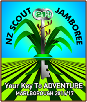 New Zealand Scout Jamboree - Image: 21st New Zealand Scout Jamboree Logo