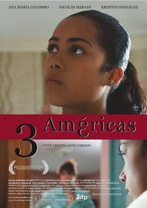 3 Américas - Theatrical release poster