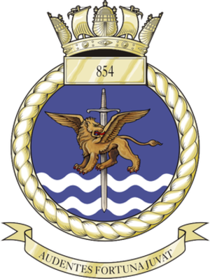 854 Naval Air Squadron - Image: 854NAS Crest