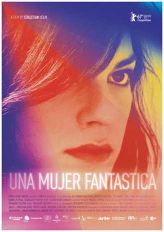 A Fantastic Woman - Chilean theatrical release poster