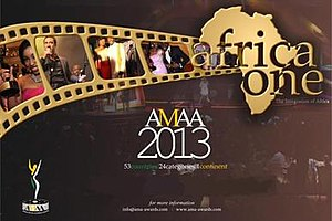 9th Africa Movie Academy Awards - Official poster