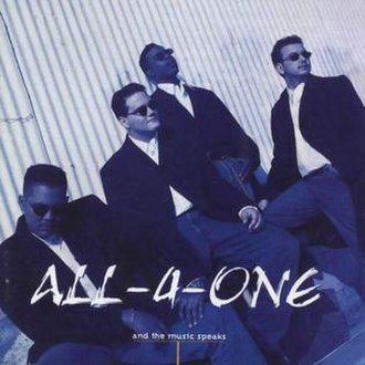 And the Music Speaks - Image: All 4 One And The Music Speaks