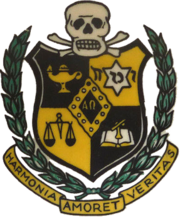 The Coat of Arms of Alpha Omega Fraternity