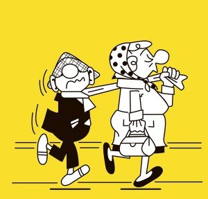 Andy Capp - Andy and Flo