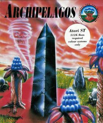 Archipelagos (video game) - European Atari ST cover art