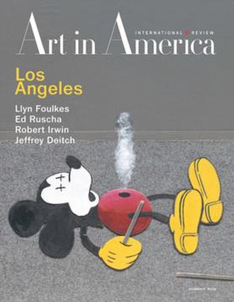 Art in America - Image: Art in America (magazine cover)