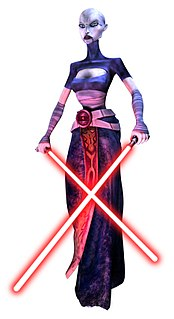 Asajj Ventress fictional character in the Star Wars Universe