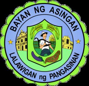 Asingan, Pangasinan - Image: Asingan Pangasinan