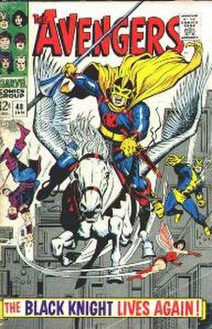 Black Knight (Dane Whitman) - Image: Avengers 48
