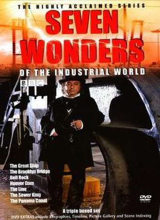 Seven Wonders of the Industrial World - Image: BBC Seven Wonders DVD Cover
