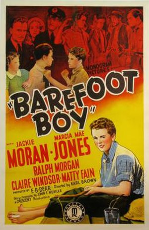 Barefoot Boy (film) - Original film poster