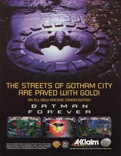 <i>Batman Forever: The Arcade Game</i> 1996 arcade video game