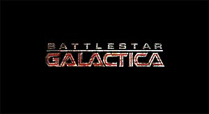 The reimagined Battlestar Galactica logo