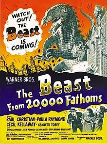 Image result for the beast from 20 000 fathoms