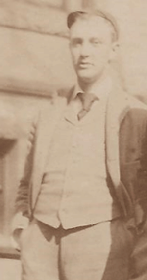 Ben Crosby - Crosby while a player at Yale, c. 1891