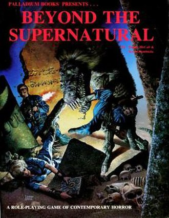 Beyond the Supernatural - Image: Beyond the Supernatural RPG 1st Ed 1987
