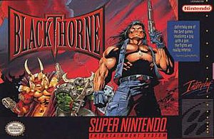 Blackthorne - SNES box art