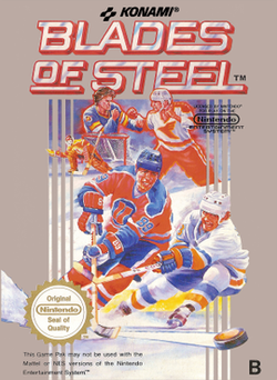 Blades of Steel Konamic Ice Hockey