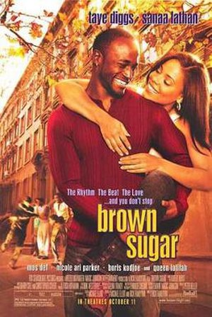 Brown Sugar (2002 film) - Theatrical release poster