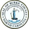 Official seal of Burke County