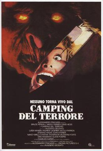 Body Count (1986 film) - Image: Camping del terrore italian movie poster md