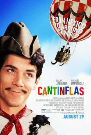 Cantinflas (film) - Theatrical release poster