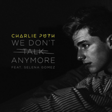 Charlie Puth Feat. Selena Gomez - We Don't Talk Anymore (Official Single Cover).png