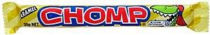 Chomp (chocolate bar) - Australian Chomp Wrapper