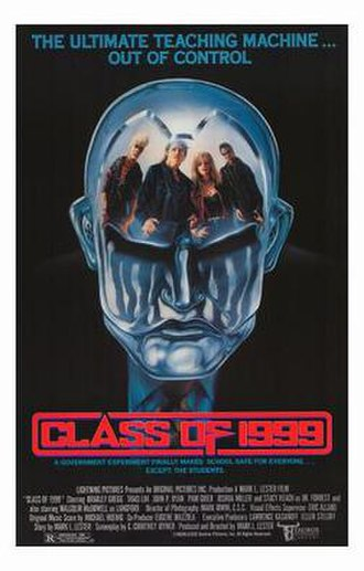 Class of 1999 - Theatrical release poster