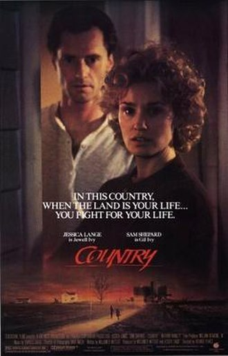 Country (film) - Theatrical release poster