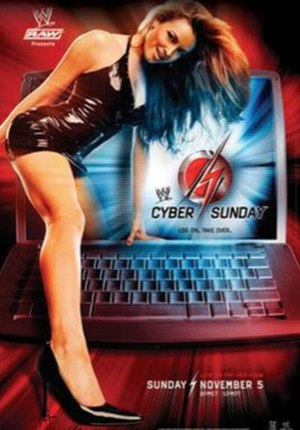 Cyber Sunday (2006) - Promotional poster featuring Maria