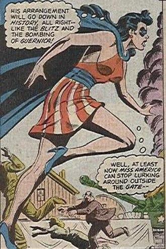 Miss America (DC Comics) - Image: DC Miss America