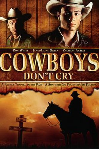 Cowboys Don't Cry (film) - DVD Cover