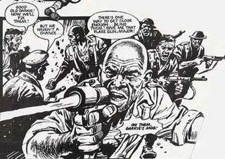 Mike Western British comics artist