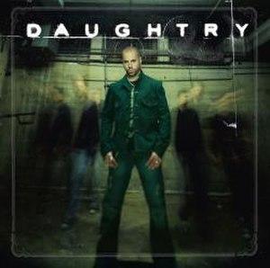 Daughtry (album) - Image: Daughtry Band Cover Album