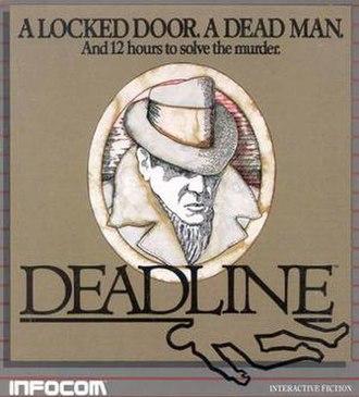 Deadline (video game) - Covert art