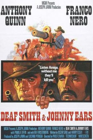 Deaf Smith & Johnny Ears - US film poster
