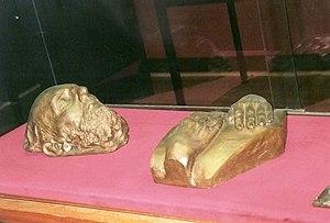 1949 in art - Death mask of James Ensor