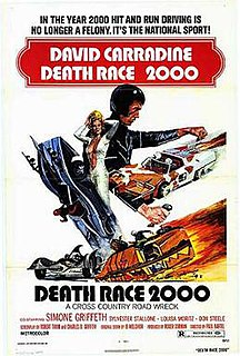 <i>Death Race 2000</i> 1975 cult action film directed by Paul Bartel