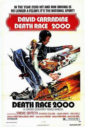 Death Race 2000 - Theatrical release poster