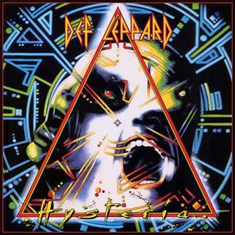 Hysteria (Def Leppard album) - Image: Def Leppard Hysteria (vinyl version)