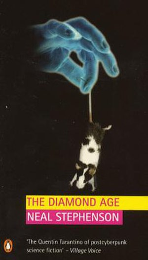 The Diamond Age - Cover of the 1998 Penguin edition.